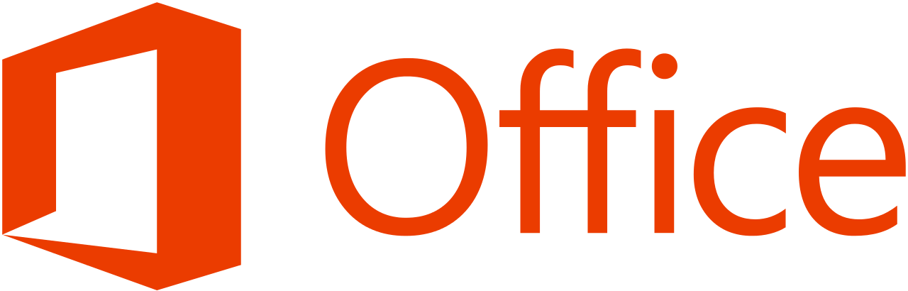 Microsoft Office 2013 logo and wordmark svg